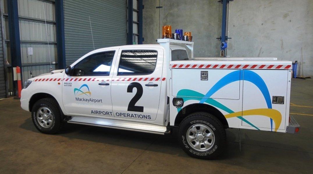 Mackay Airport Vehicles Light Fleet Safety Solutions